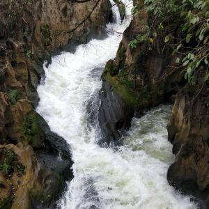 螺丝滩瀑布旅游景点攻略图