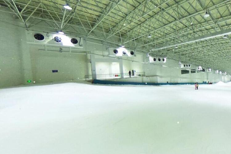 天鵝堡室內滑雪場2