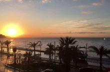 日出尼斯海岸,海边酒店必须要住,海边跑步必须要试