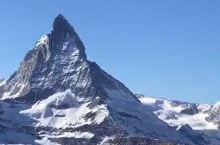 瑞士马特宏峰,金三角巧克力的立体标志
