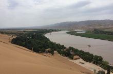 黄河与大漠的完美融合