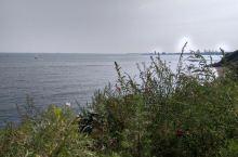 蓬莱田横山边海景