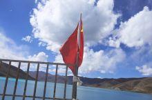 在羊湖为祖国庆生