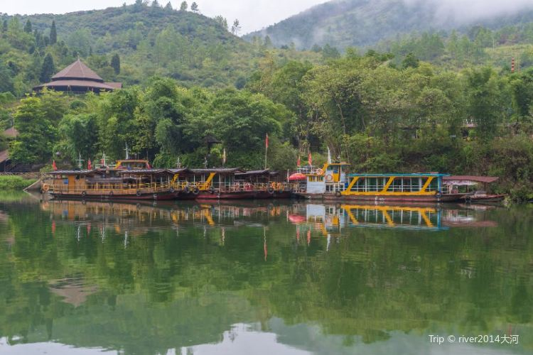Huangchuan River Three Gorges1