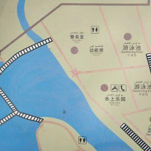 红海湾景区水上乐园旅游景点攻略图