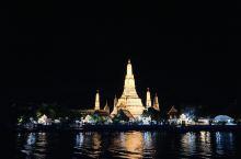#网红打卡地# 湄南河的夜与日
