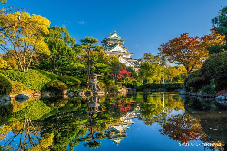 The Main Tower of Osaka Castle1
