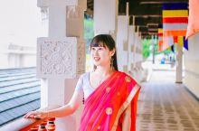 斯里兰卡必体验民族服饰「纱丽」