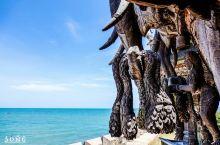芭提雅海滩,一个木工的坚守