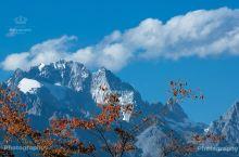 丽江:沉浸在深秋的蔚蓝(上)