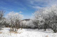 太白冻山讲述了一段冰雪童话……