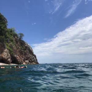 皮皮岛潜水旅游景点攻略图