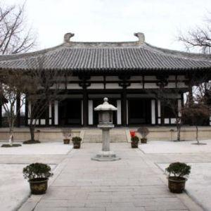 唐招提寺旅游景点攻略图