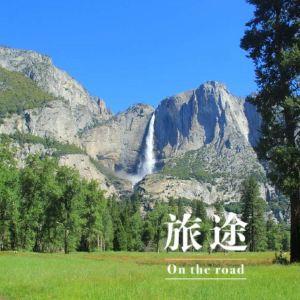 优胜美地瀑布旅游景点攻略图