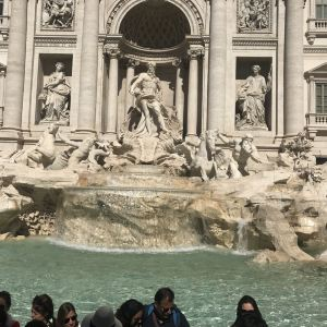特莱维喷泉旅游景点攻略图