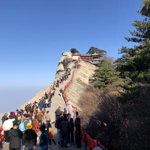 华山游记图文-红色土窑、偶遇龙门、梦回长安—延安、洛阳、西安游记