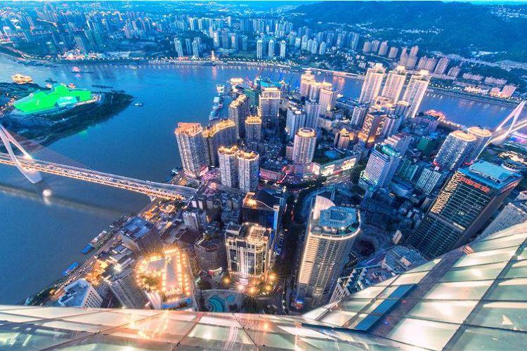 重慶環球金融中心觀景台(會仙樓)