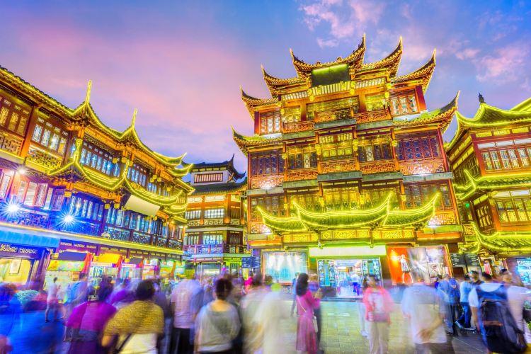 Shanghai City God Temple Tourist Area