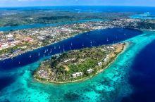 #浪漫的事# 世界上最幸福国度的浪漫首都,被大海拥抱的维拉港
