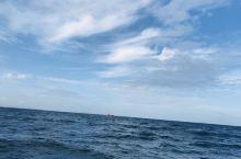 超级美丽 而且非常蓝的一个海滩💑💑💑