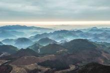 云雾缭绕的仙界奇观,四明山