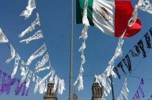 墨西哥城的秀丽景色