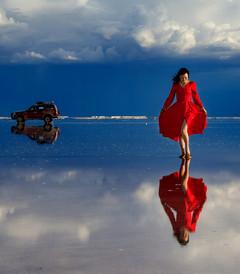[玻利维亚游记图片] 玻利维亚天空之镜,美得不像话的世外桃源
