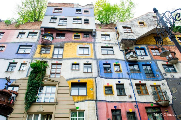 Hundertwasser House Vienna3