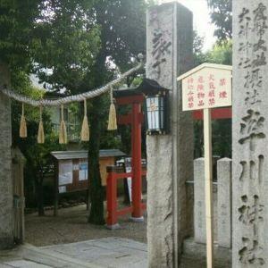 率川神社旅游景点攻略图