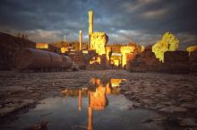 迦太基古城遇到金光