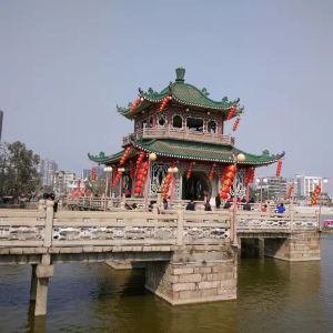 揭阳榕江西湖公园旅游景点攻略图