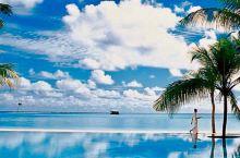 海天一色,椰树婆娑