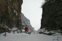 青海互助南泥沟看雪