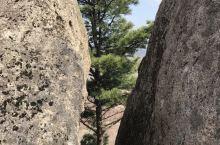 亚布力附近的野山攀爬留影