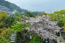 雨中漫步日本长崎哥拉巴公园