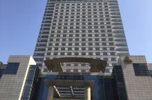 沧州金狮酒店 在沧州狮城广场附近,很高挡的一个酒店,据说是五星级的。中国和塞尔维亚女篮在沧州打比赛,