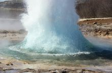 冰岛间歇喷泉