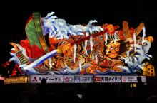 东北三大祭(2)灯火贯长街的青森睡魔祭