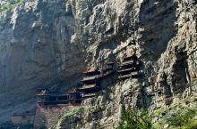 恒山峭壁寺悬空