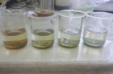 在鞍山的水处理实验