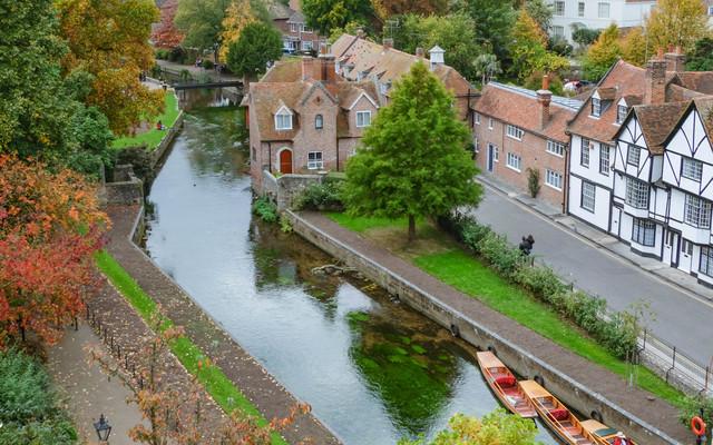 英国小镇一日游记:褪去宗教圣地的光环,Canterbury的平凡依旧迷人