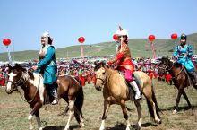 #锡林草原那达慕# 骑着马儿过草原欢庆那达慕