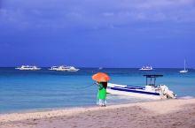 菲律宾长滩岛白沙滩