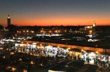 马拉喀什不眠夜市