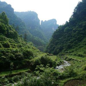 德夯大峡谷旅游景点攻略图