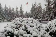 漠河四月雪