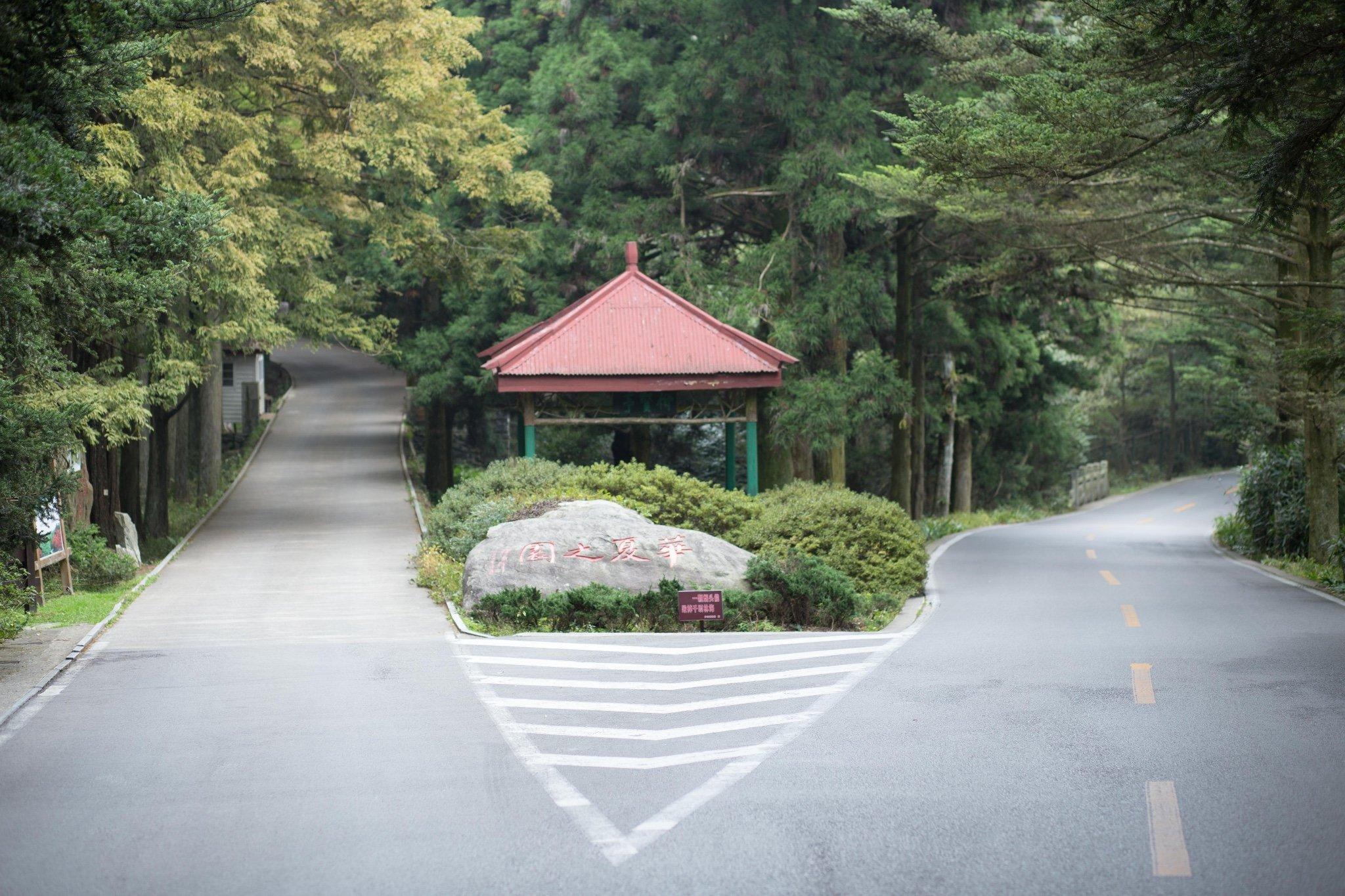 庐山植物园旅游景点图片