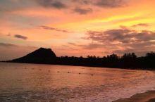 垦丁海滩黄昏