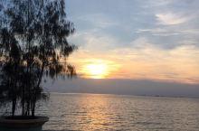 太平洋的夕阳