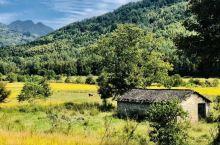 宏村门口也风景如画,写生绝佳之地